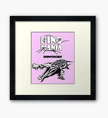 Dino Mania Deinosuchus Framed Print