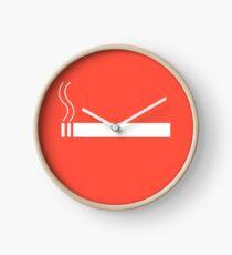 Panneau Cigarette Horloge