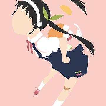 Hachikuji Minimalist by ZeroKara