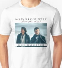FOR THE KING AND COUNTRY BURN THE SHIPS ALBUM RELEASE TOUR 2018/2019 AMIN Unisex T-Shirt