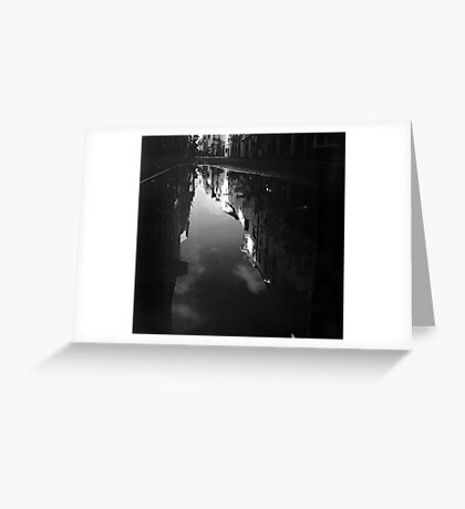 Cook Street Under Water Greeting Card