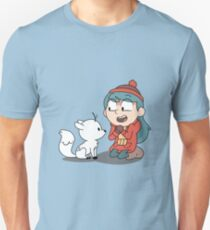 Hilda and twig sitting Unisex T-Shirt