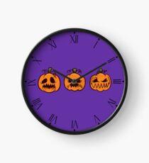 Mischievous Pumpkins Clock