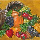 Cornicopia Harvest by Carol Megivern