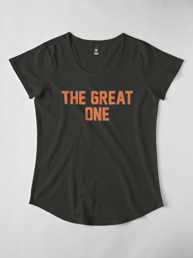 Alternate view of The Great One (EDM) Premium Scoop T-Shirt