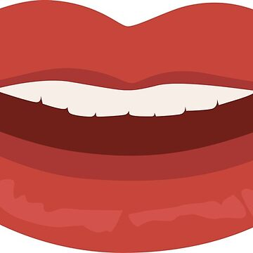 Smiling Lips by EmmeBi-graphic