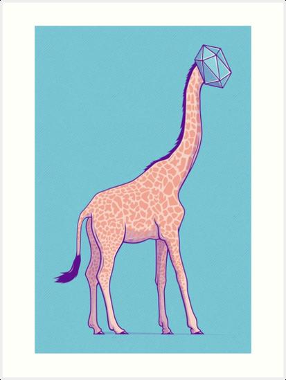 Giraffe Prism by strangethingsA