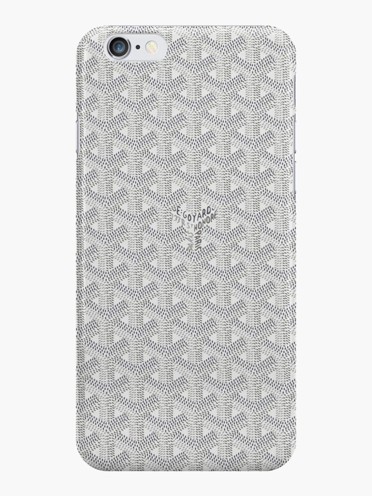 cheaper c084d 1b9d7 'white go goyard' iPhone Case by leonardcjerk