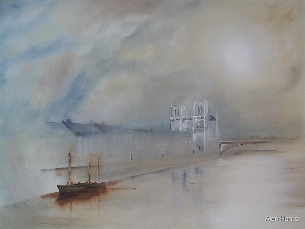 Towards Notre Dame by Alan Harris