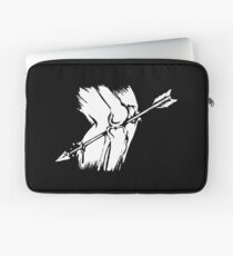 Arrow to the Knee - Just a flesh wound! Laptop Sleeve