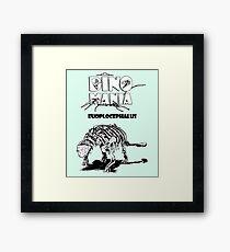Dino Mania Euoplocephalus Framed Print