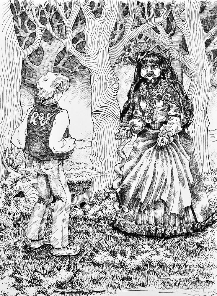 """There you are Cherie"" by Donata Zawadzka"