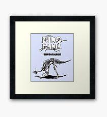 Dino Mania Tsintosaurus Framed Print