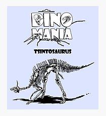 Dino Mania Tsintosaurus Photographic Print