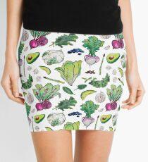 Superfood Pattern Mini Skirt