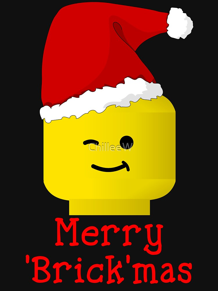 Santa Minifig - Merry 'Brick'mas by ChilleeW