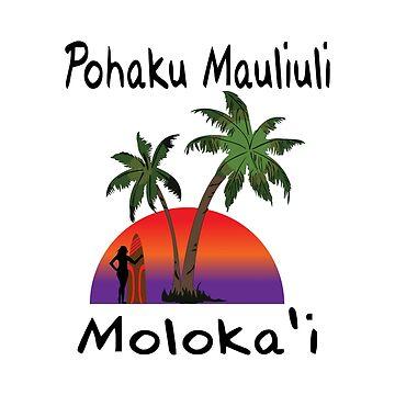 Pohaku Mauliuli Molokai'i by RBBeachDesigns