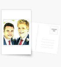 Robron Wedding Postcards