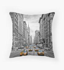 URBAN MANHATTAN 5th Avenue Throw Pillow