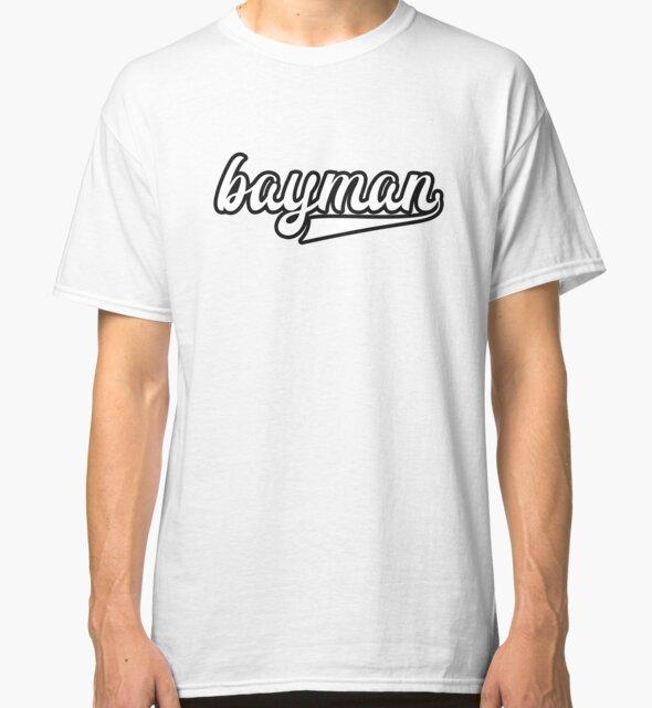 Bayman - White with black outline - Newfoundland by newfoundpod