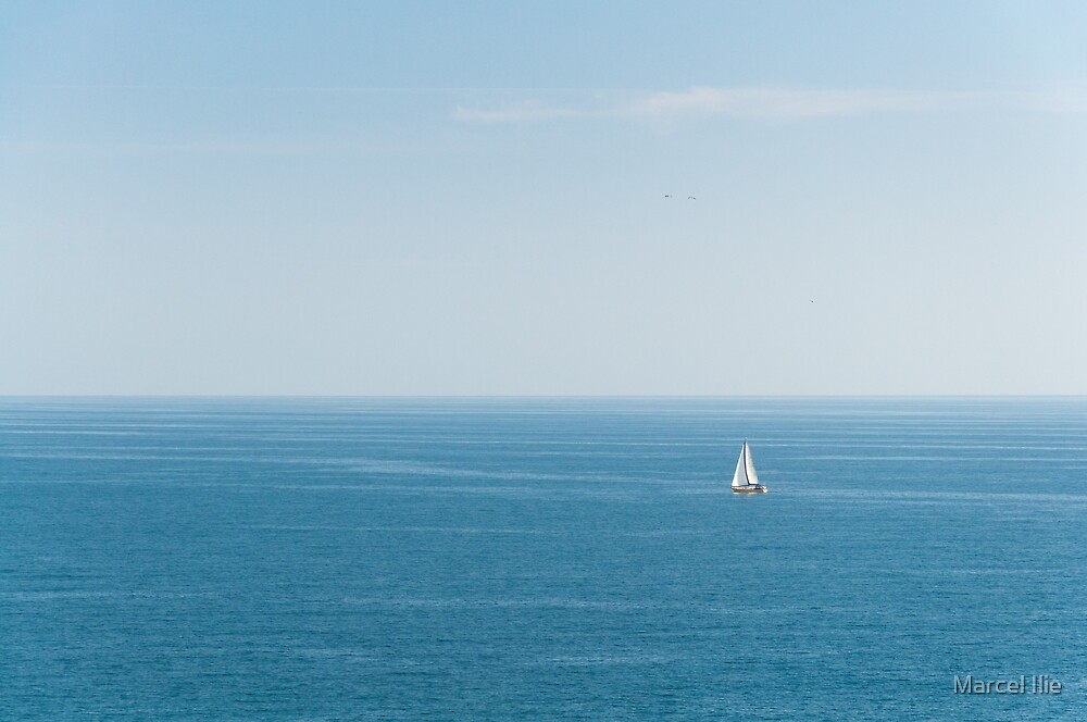 the Sea by Marcel Ilie