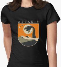 Besuche Arrakis Tailliertes T-Shirt
