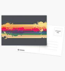 Regenbogen Postkarten