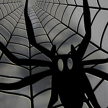 Spider iPhone case designer jewelry  by patjila