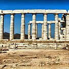 Temple of Posidon,Sounio by George Kypreos