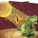 Gator Trumpet Player by TraciVanWagoner