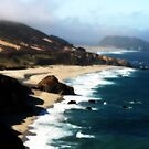 Pacific Coast Hwy (Big Sur) by Terence Russell
