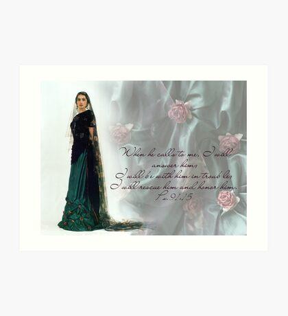 """The dead rose""  Art Print"