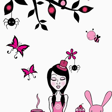 Pinky In Pinky Land T by artisticamylee