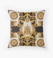 barocco pattern Throw Pillow