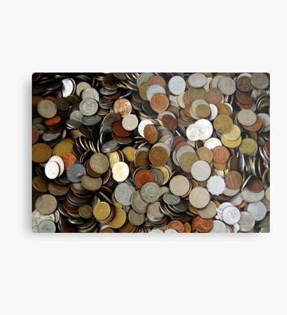Moneymoneymoney. II Metal Print