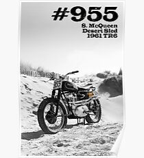 No 955 Mcqueen Desert Sled Poster