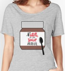 Nutella is My Spirit Animal Women's Relaxed Fit T-Shirt