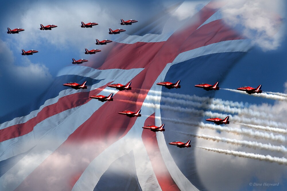 Red Arrows  by Dave Hayward
