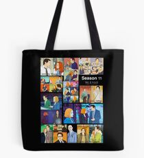 The X files season 11 all the episodes ( more 70 designs XFiles in my shop) Tote Bag