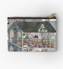 Haunted House Ants Zipper Pouch