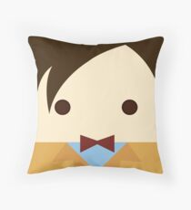 11th doctor, Matt Smith Throw Pillow