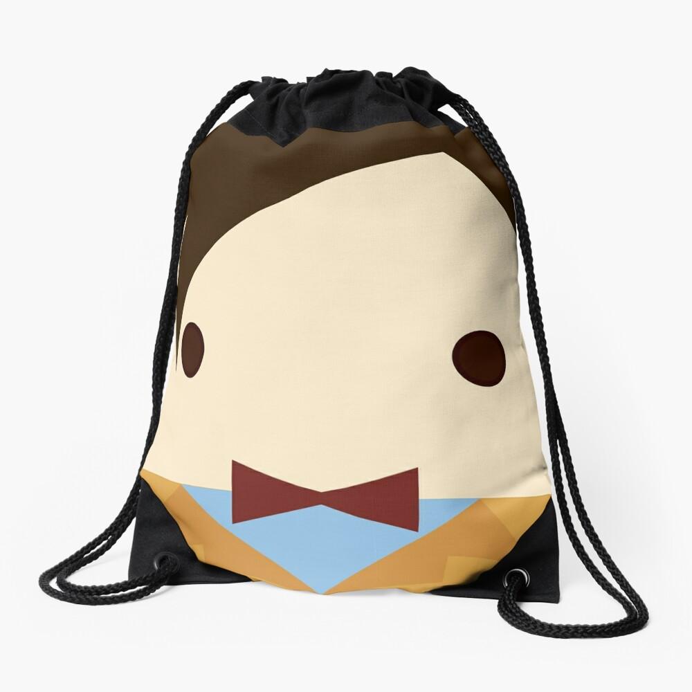 11th doctor, Matt Smith Drawstring Bag