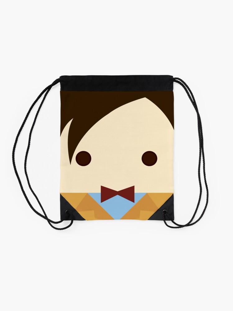 Alternate view of 11th doctor, Matt Smith Drawstring Bag
