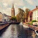 Church of Our Lady Bruges by Ann Garrett