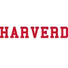 HARVERD (red letters) by TVsauce