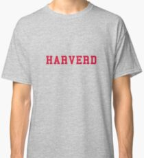 HARVERD (red letters) Classic T-Shirt
