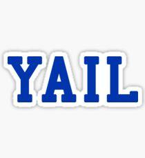 YAIL (blue letters) Sticker