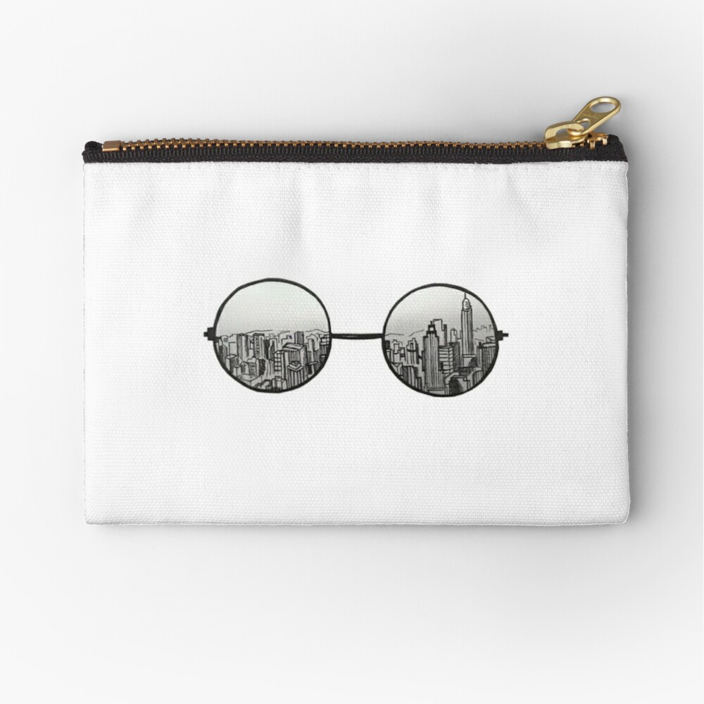 the view Zipper Pouch