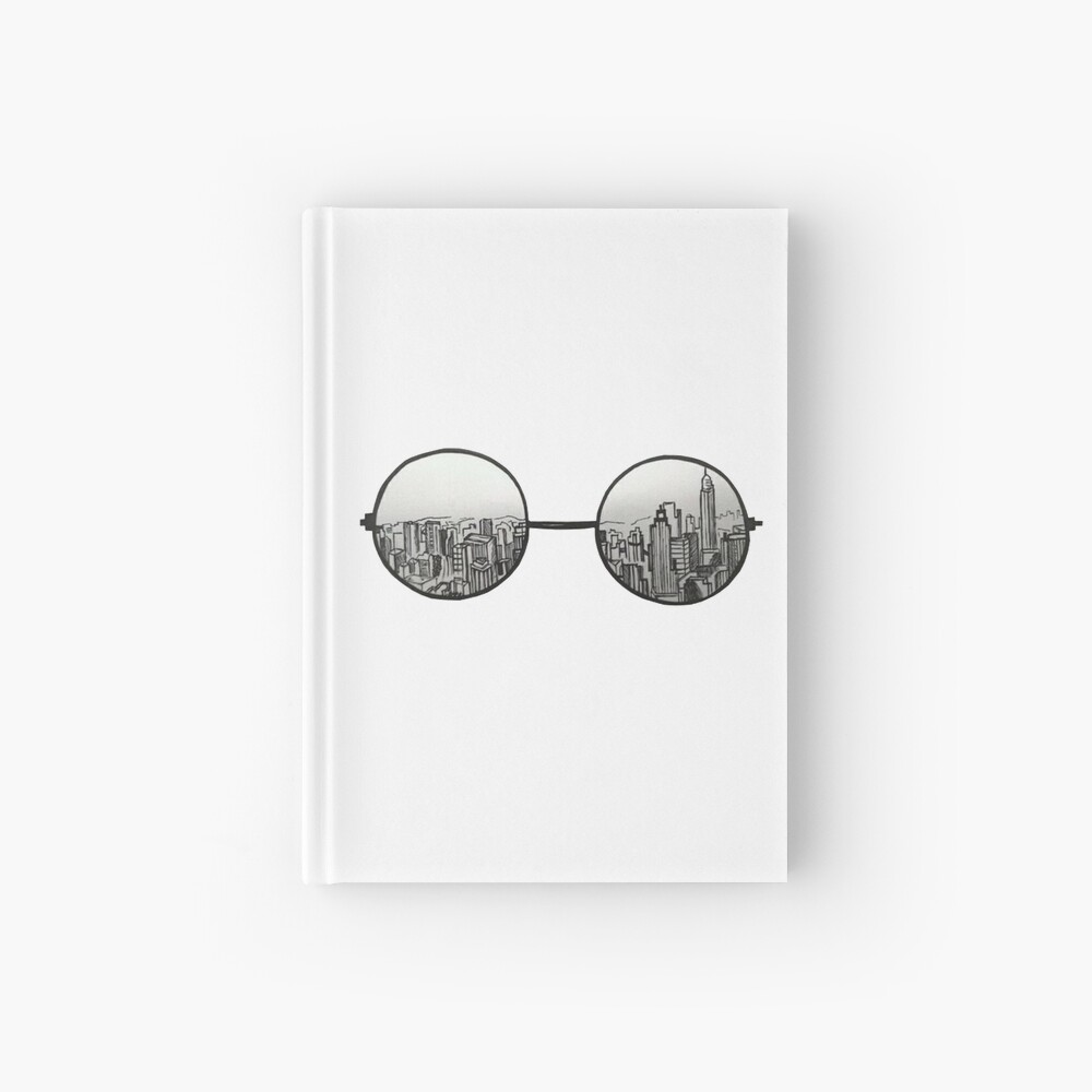 the view Hardcover Journal
