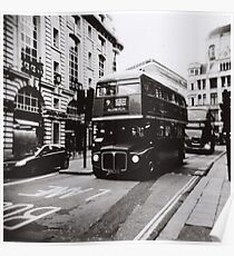 London bus 9 Aldwych Poster